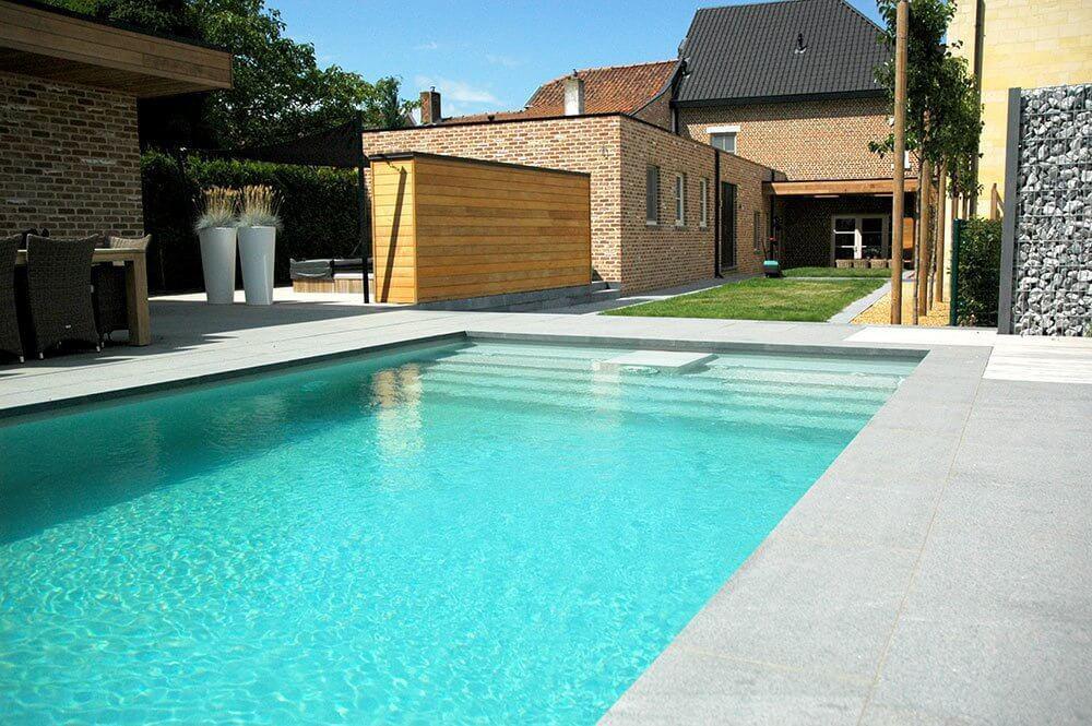 Beeldgalerij zwembadbouw nijs nv - Zwembad huis ...